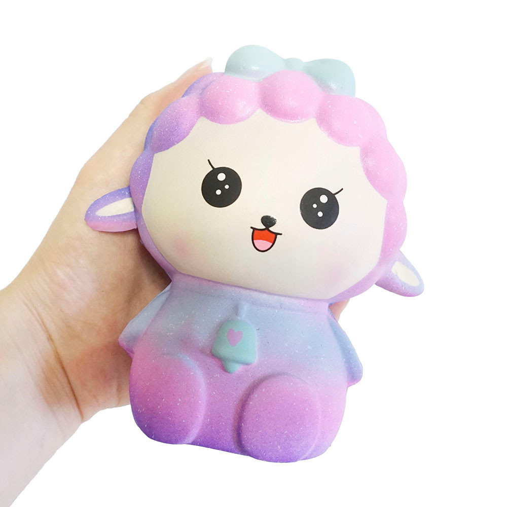 Relax toys Galaxy Cartoon Sheep Scented Slow Rising Pressure Squeeze Stress Reliever Toy skuishy animales fascinating D300102