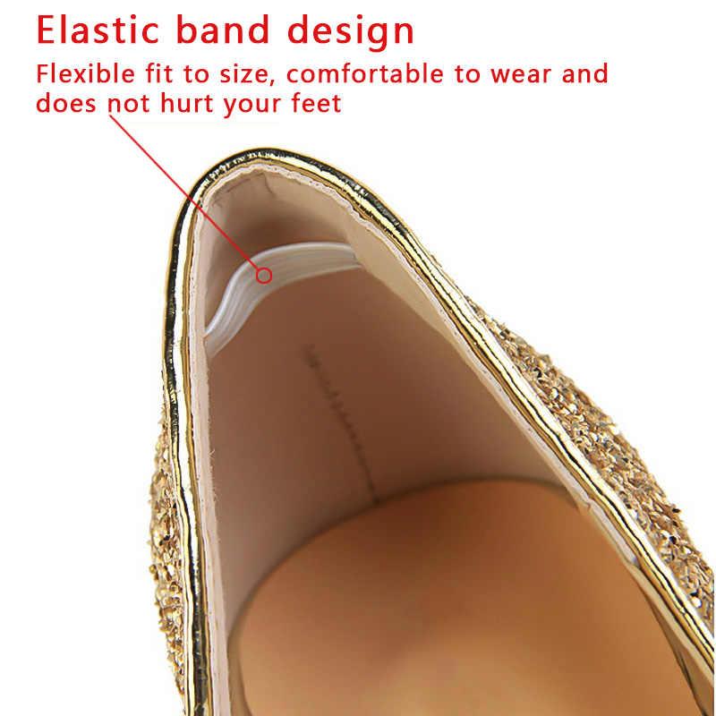 Kadın Pompaları Aşırı Seksi Yüksek Topuklu Kadın Ayakkabı Ince Topuklu kadın ayakkabısı Düğün Ayakkabı Altın Gümüş Bayanlar Ayakkabı Yavru Topuklar
