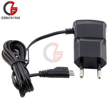 EU Plug 5V Fast Charging Micro USB Charger Adapter For Samsung HTC LG Sony Cell Phones 70cm Cable(China)