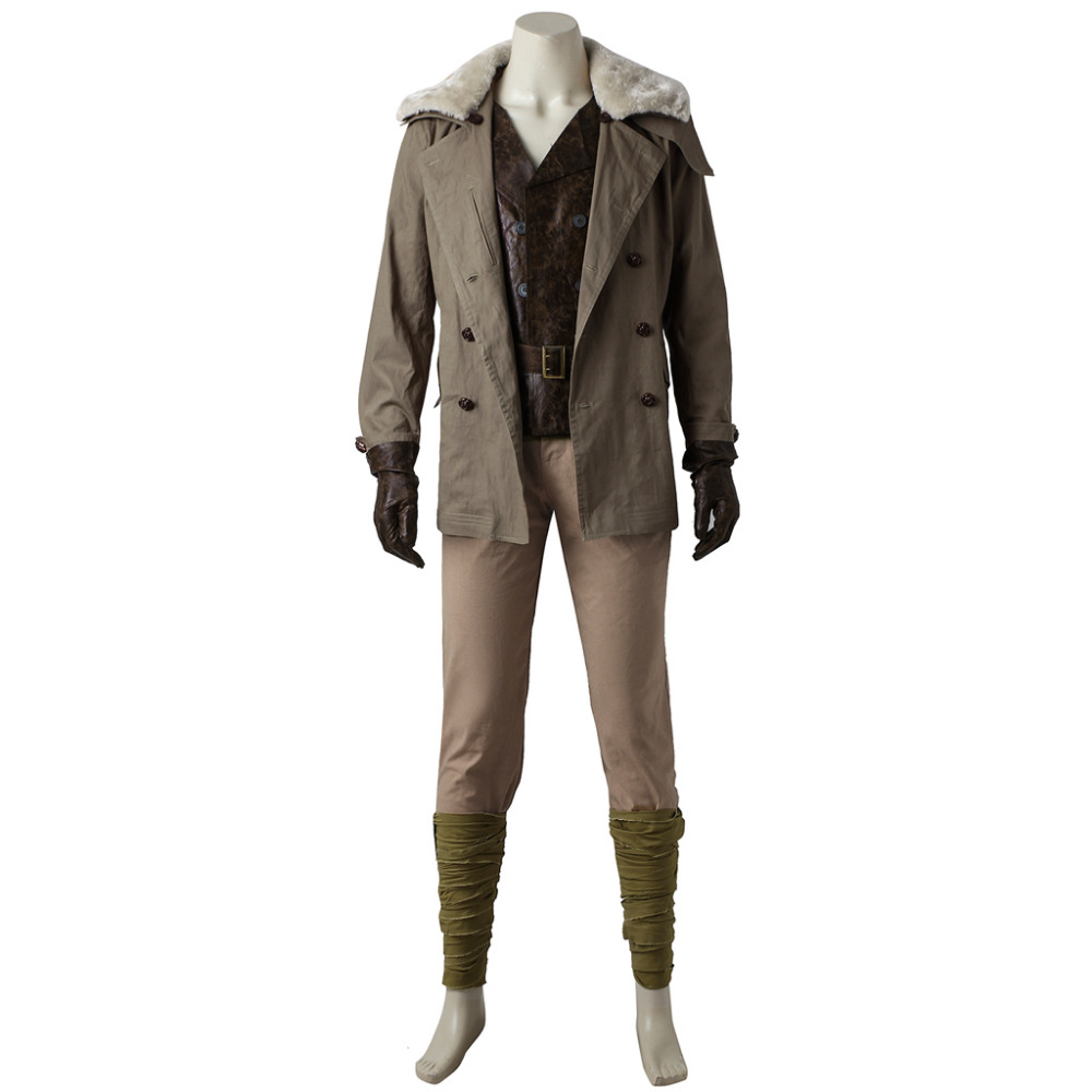 Wonder Woman Steve Trevor Cosplay Costume Halloween Carnival Party Cosplay Costume For Men