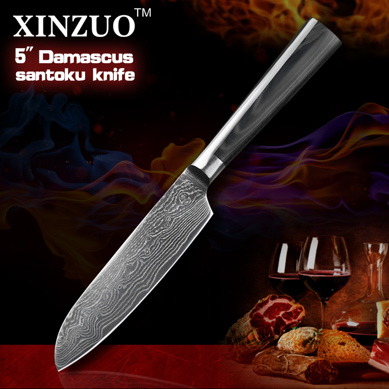 NEW 5 Japanese chef font b knife b font 73 layers VG10 Damascus steel kitchen font