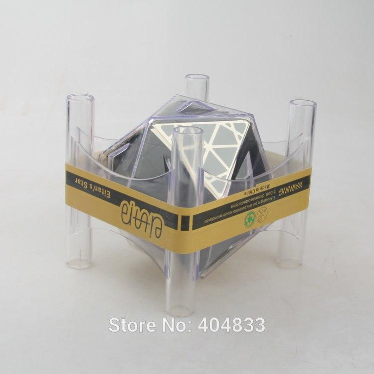 MF8 Oskar ICOSAIX III II Eitan s Star Black Primary Cubo Magico Toy Cube Twist Puzzle
