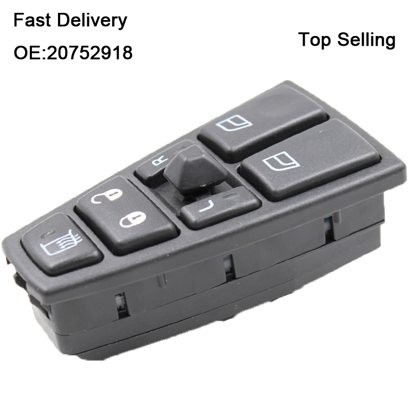 Master Control Window Switch 20752918 21543897 For Volvo Truck FH12 FH13 FM VNL
