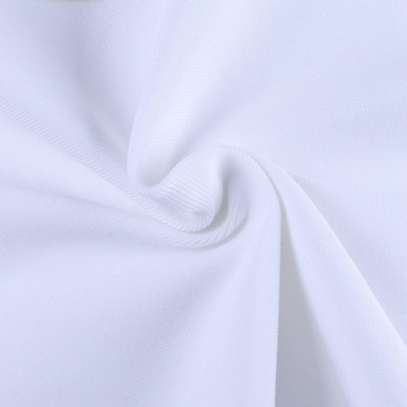 White Embellished Vestidos Tassel 15