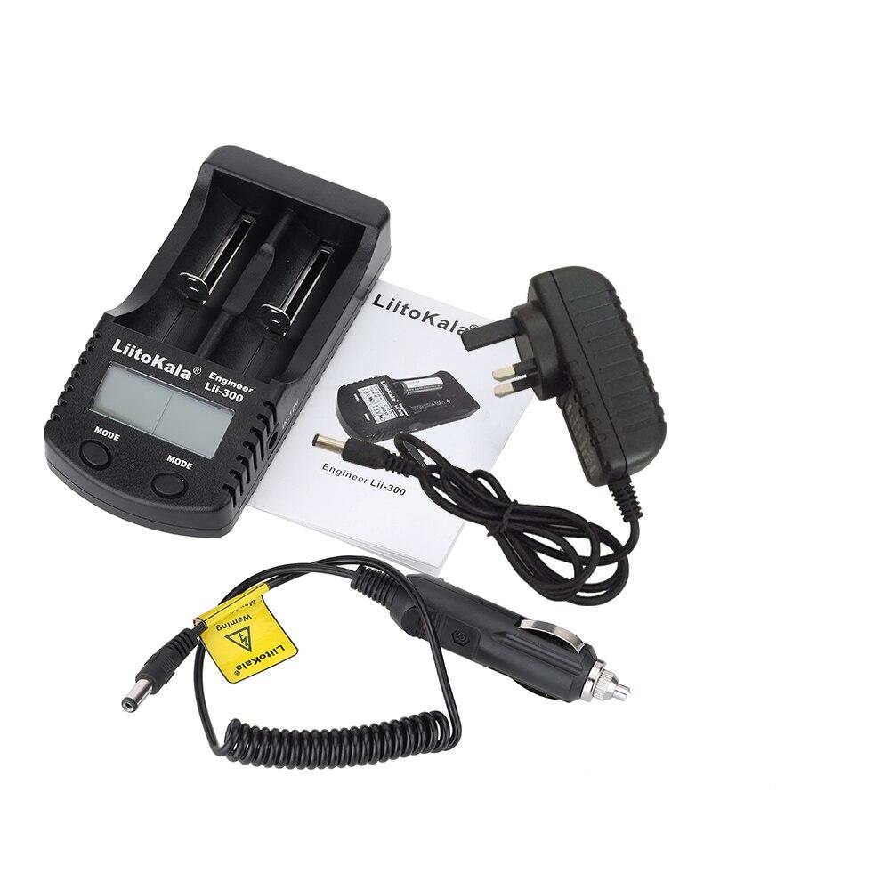 Liitokala LCD 3.7V 18650 battery Charger Lii-300 1.2V AA/AAA NiMH/ lithium Charger 16340 10440 14500 26650 21700 18350 liitokala lii 402 18650 charger 1 2v 3 7v 3 2v 3 85v aa aaa 26650 10440 14500 16340 25500 nimh lithium battery smart charger