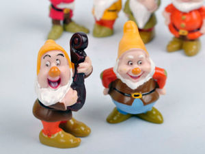 Image 3 - Hot Snow White and the Seven Dwarfs Figures / Cake Topper/ Kids Gift 8pcs