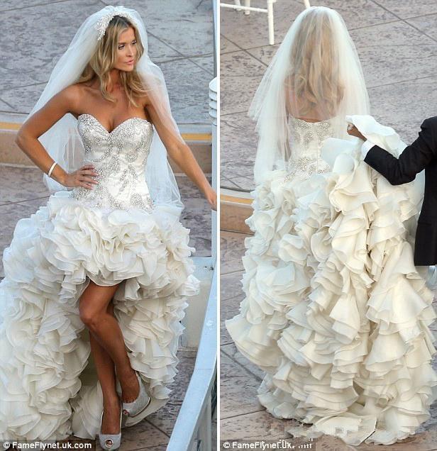 Cheap 2015 Sparkling Rhinestone Wedding Dresses Sweetheart Backless ...