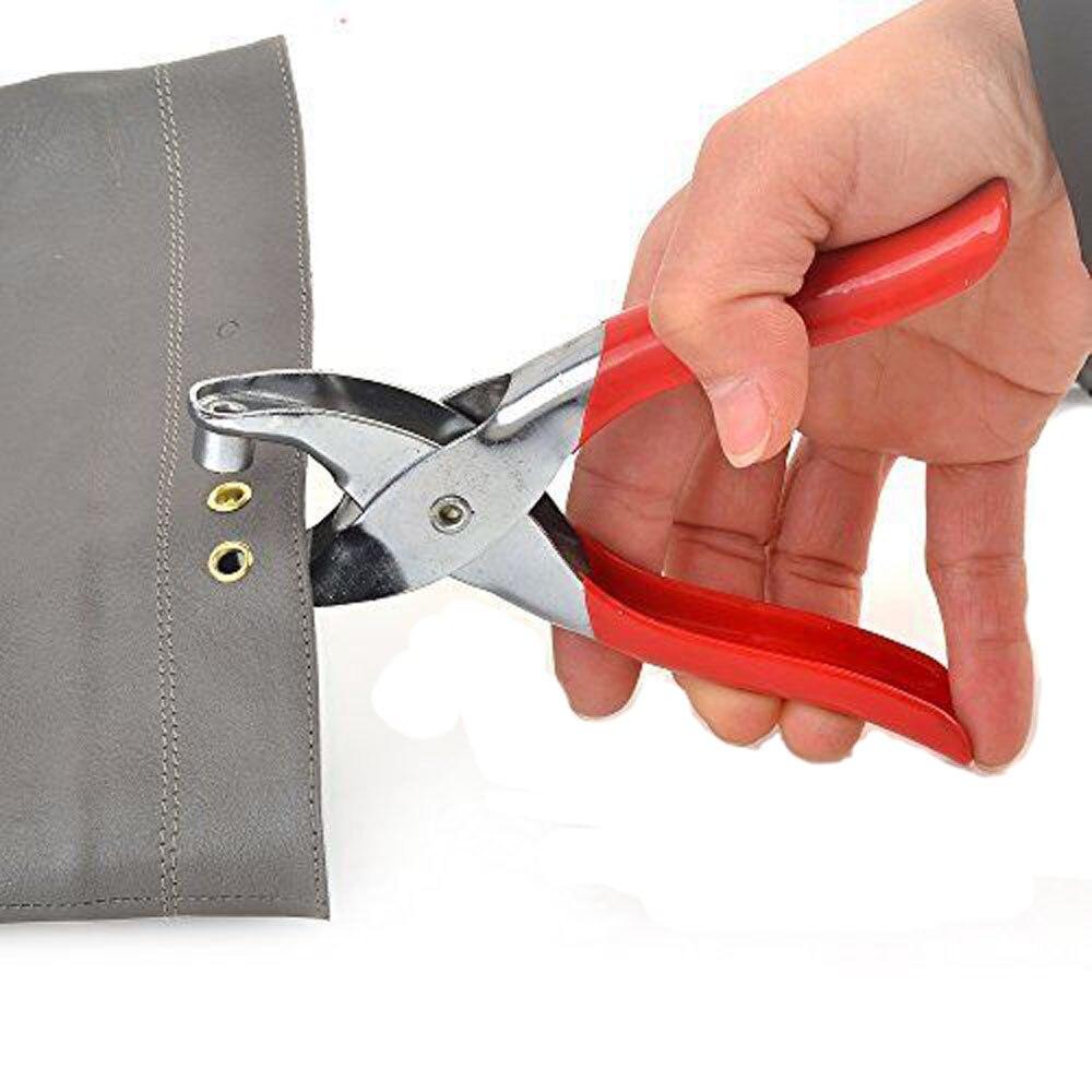 US $4 05 30% OFF|Eyelet Setting Plier Grommet Button Leather Cloth Shoe Bag  Belt Setter Rivet Snap Canvas Pincer fastener Hand Leathercraft-in Pliers