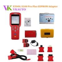 XTOOL X100 PRO автоматический ключ программист с адаптером EEPROM поддержка Immobilier и ECU программирование обновление онлайн