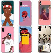 Frank Ocean Blonde Fashion Star Hard PC Phone Casea Cover For Apple iPhone 5 5S SE 6 6S Plus 7 XR XS Max8 8 Plus X 10(China)