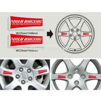 40 x Nieuwste Grappige Auto Velg Decoratie Sticker Serie Auto Accessoires Decal voor Volk Racing Stralen Techniek