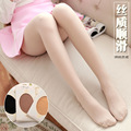 new  silky smooth satin velvet tights  Sexy  dress women's pantyhose spring GIRLS  Opaque Footed Tights Thick  Stockings gifts