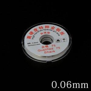 Image 4 - 0.04/0.05 MILLIMETRI LCD Dello Schermo di Separazione di Alta Durezza Speciale Oro Filo di Taglio Linea Per Iphone Samsung di Vetro Fili per saldatura