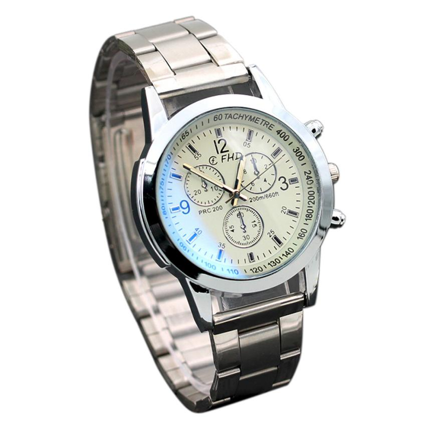 Watch Mens Drop Shipping Gift Relogio Masculino Reloj Hombres Stainless Steel Sport Quartz Hour Wrist Analog June22 drop shipping gift boys girls students time clock electronic digital lcd wrist sport watch july12