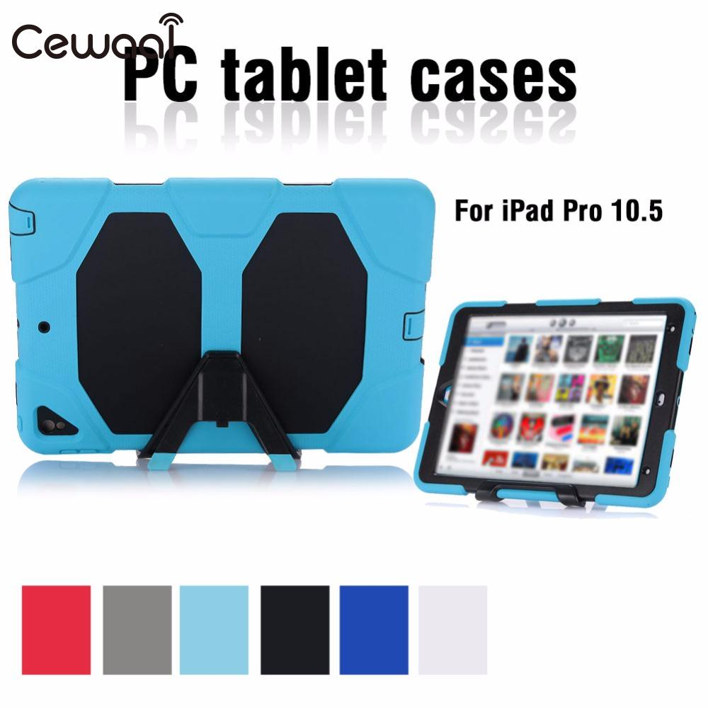 Cewall Tablet Cover For IPad Pro 10.5 Protective Case Tablet Case Ultrathin Durable 6 Colors 360 Degrees Protection Skin