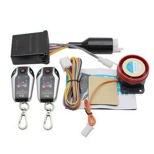 Image 3 - 2 双方向オートバイ警報装置盗難防止システムスクーター強盗振動警報リモートエンジンスタート 5 メーター自動ロック