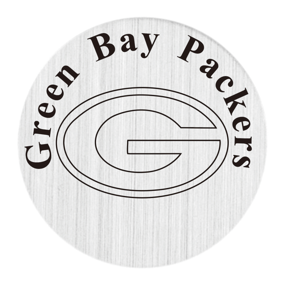 20PCS New Arrial Living Locket Plate Green Bay Packers Locket Disk Fit 30MM Glass Floating Glass Locket