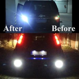 Image 5 - Safego 10pcs 1156 BA15S P21W 12V 칩 LED COB 전구 자동 자동차 백업 테일 턴 신호 조명 램프 화이트 6000k