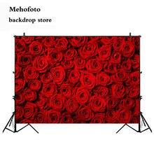 Mehofoto Valentinstag Rose Wand Foto Schießen Hintergrund Rote Rose Hochzeit Fotografie Hintergrund Geburtstag Dekoration Party 275