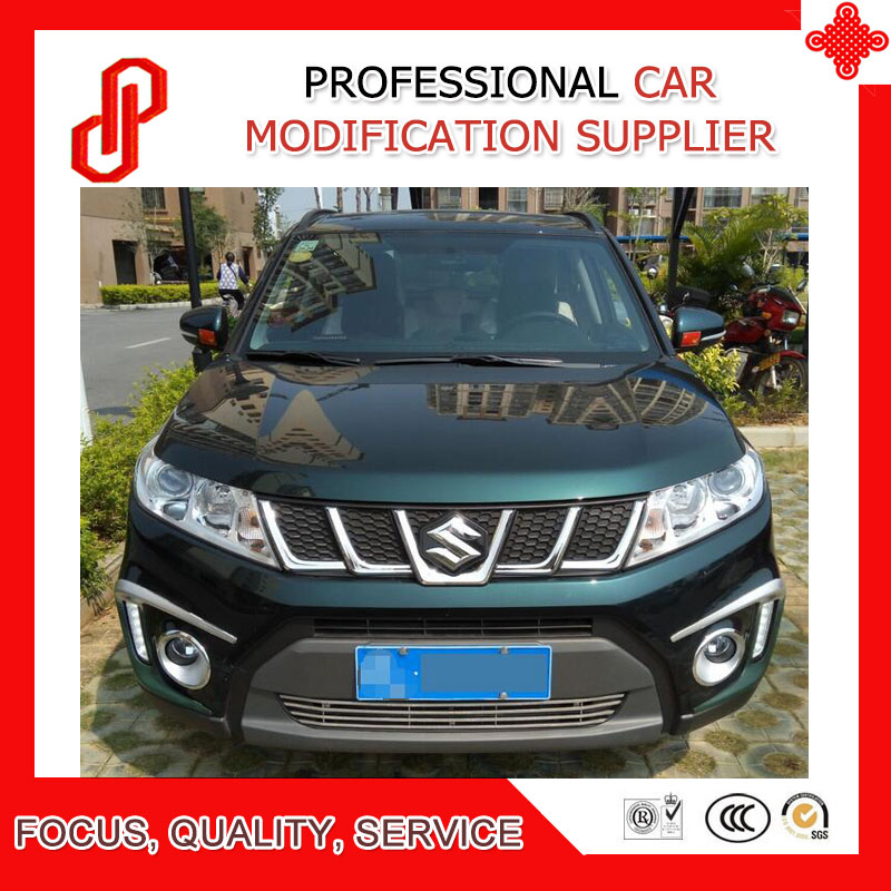 Modificate ABS front grill racing grills for Vitara front grille 2016 2017 2018 image