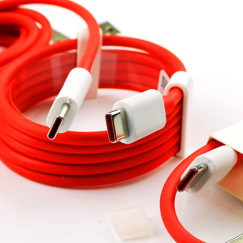 Image 3 - Original OnePlus 6 Dash Charger Cable 30cm/100cm/200cm red 4A Fast Charge Data Cable For One plus 6t 5t 5 3t 3 Mobile Phone-in Mobile Phone Cables from Cellphones & Telecommunications