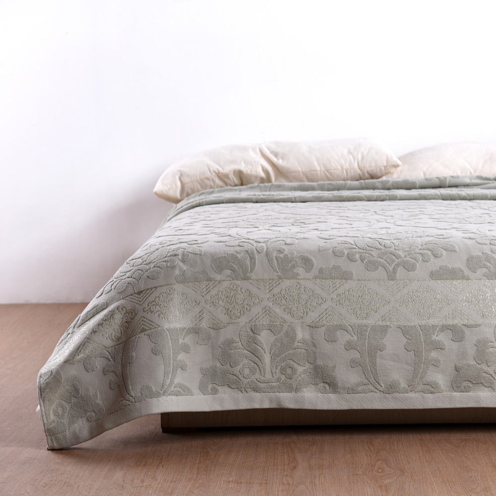 New shelves brand jacquard blanket 100% cotton mattress sofa / bed warm and soft towel blanket 150cm * 200cm