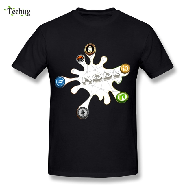 Fashion Streetwear Male Ripple Cryptocurrency T Shirt Ethereum Bitcoin Litecoin Great Design T-Shirts