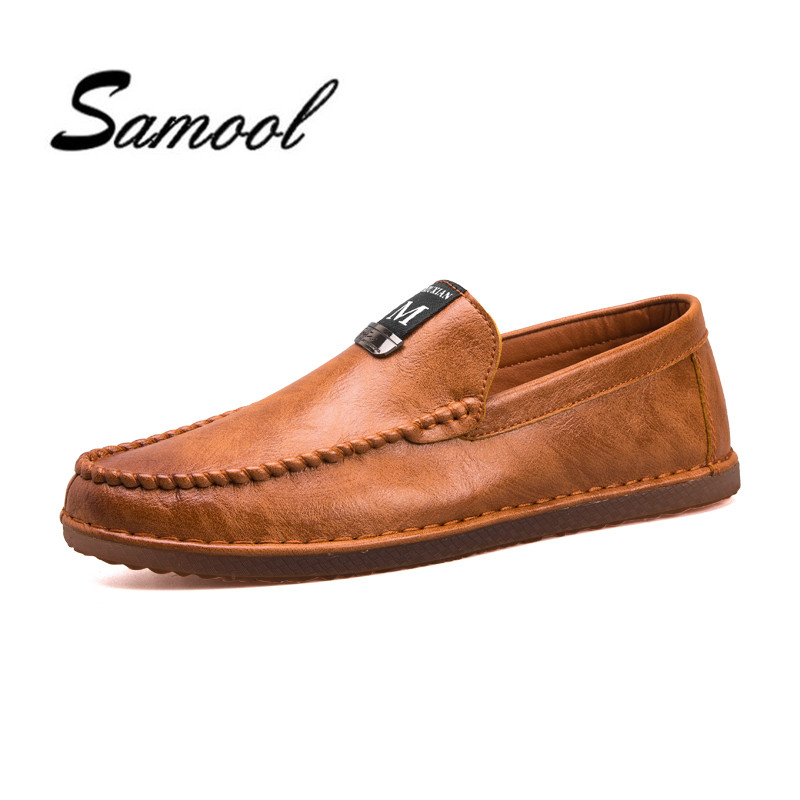 Genuine Leather slip on casual men loafers spring and autumn mens moccasins shoes round toe breathable men's flats shoes lx5 npezkgc new arrival casual mens shoes suede leather men loafers moccasins fashion low slip on men flats shoes oxfords shoes