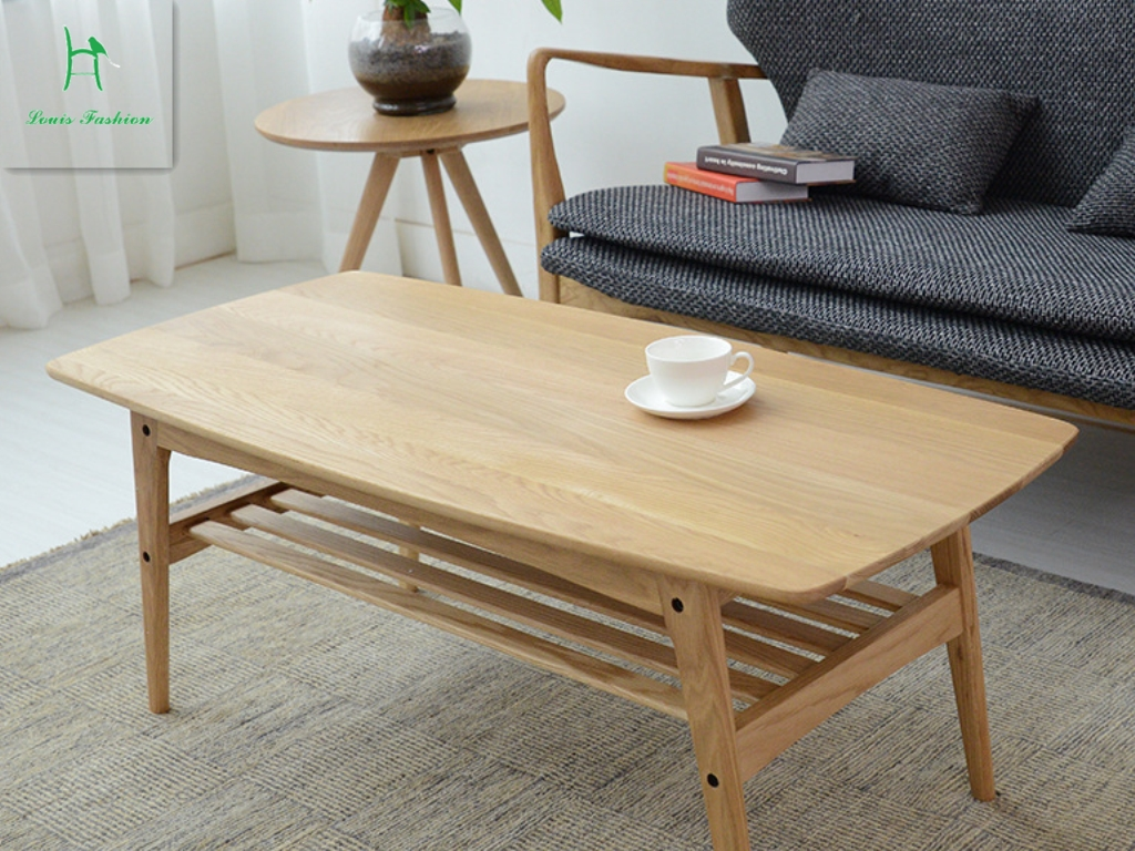 Japanese Coffee Table Oak Oak Solid Wood Tea Table Modern Simple Creative Coffee Table 1050