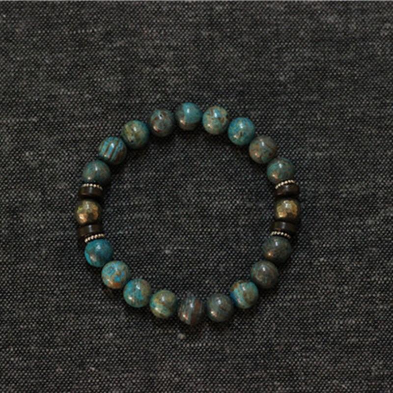 buy mens jewelry homme stretch male bracelet handmade natural stone bracelets. Black Bedroom Furniture Sets. Home Design Ideas