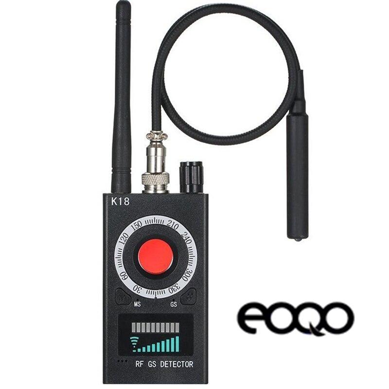 Détecteur Anti-caméra sans fil détecteur de bogue de Signal RF lentille de caméra de Signal lentille Laser détecteur GSM détecteur de traqueur à portée complète