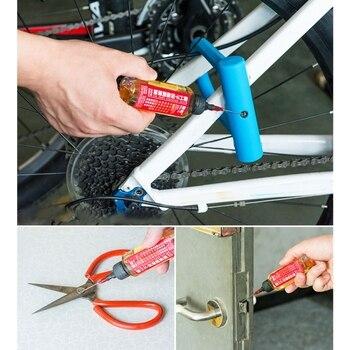 Máquina de coser de 2019 60ML, lubricante de cadena de aceite lubricante, lubricante para mantenimiento de Moto de coche, lubricante, limpiador de aceite, herramienta de reparación Greas