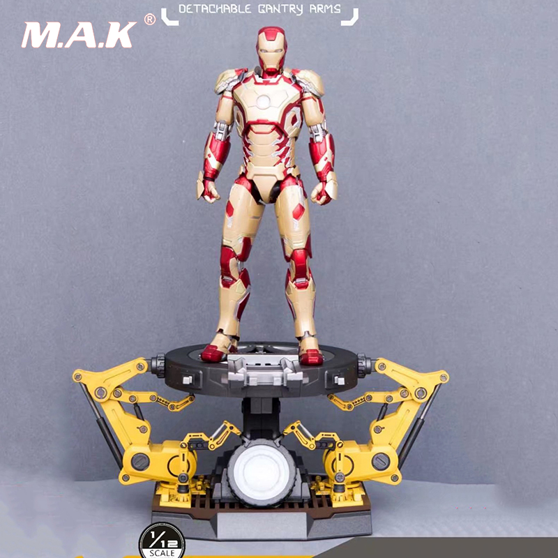 Comicave Studios1/12 LED Moving Gantry Display Stand F Iron Man Figure Model ToyComicave Studios1/12 LED Moving Gantry Display Stand F Iron Man Figure Model Toy