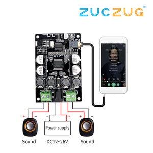Image 2 - VHM 307 TDA7492P Bluetooth Receiver Amplifier Audio Board 25W*2 Speakers Modified Music Mini Amplifiers Diy Dual channel