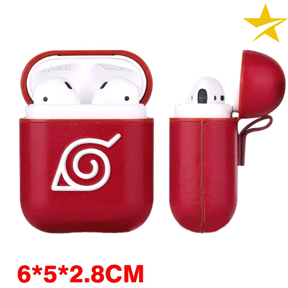 Naruto Uzumaki Uchiha Airpods Case Wireless Bluetooth Earphones