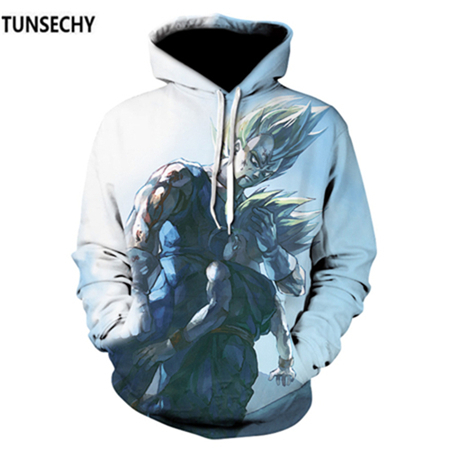 TUNSECHY Brand Dragon Ball 3D Hoodie Sweatshirts Men Women Hoodie Dragon Ball Z Anime Fashion Casual Tracksuits Boy Hooded 44