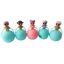 1pcs Doll lol Magic Funny Removable Egg Ball Doll Action Figure Toys Kids lol Dolls Girls Funny Dress Up Christmas Gifts