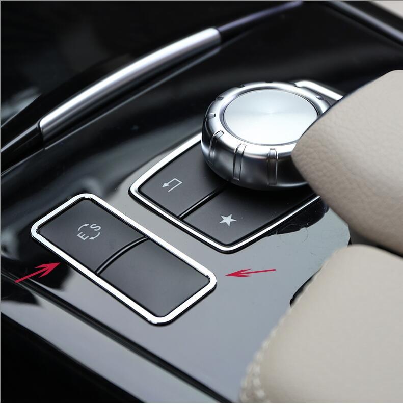E class W212 ES Button Frame Cover Accessories For Mercedes Benz C CLASS W204