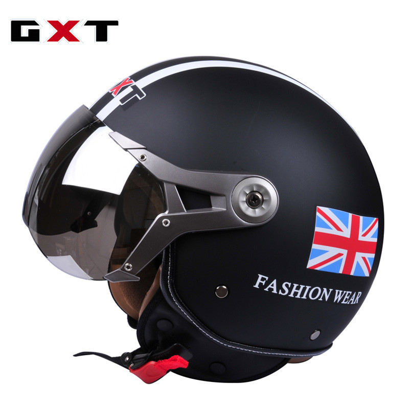 Best new arrival brand gxt scooter helmet vintage open for Best helmet for motor scooter
