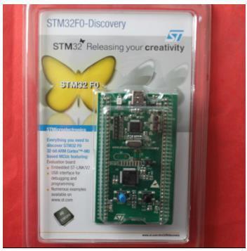 Бесплатная доставка! 1 шт. STM32F0DISCOVERY Cortex-M0 STM32F051 макетная плата (в комплекте ST-LINK/V2)