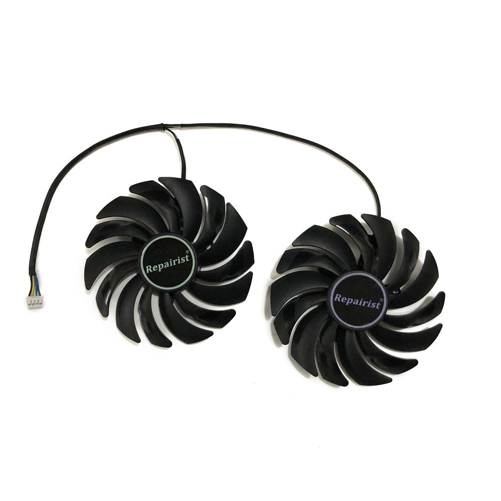 2pcs/lot gtx1080 gtx1070 gtx1060 gpu cooler Fans Video Card fan For MSI GTX 1080/1070/1060 GAMING GPU Graphics Card Cooling free shipping 2pcs lot 86mm vga fan 4pin for galaxy gtx950 960 gtx1060 graphics card cooler cooling fan