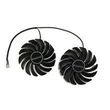 2 шт./лот gtx1080 gtx1070 gtx1060 охладитель GPU вентилятора вентилятор видеокарты для MSI GTX 1080/1070/1060 игровая gpu-графика охлаждения