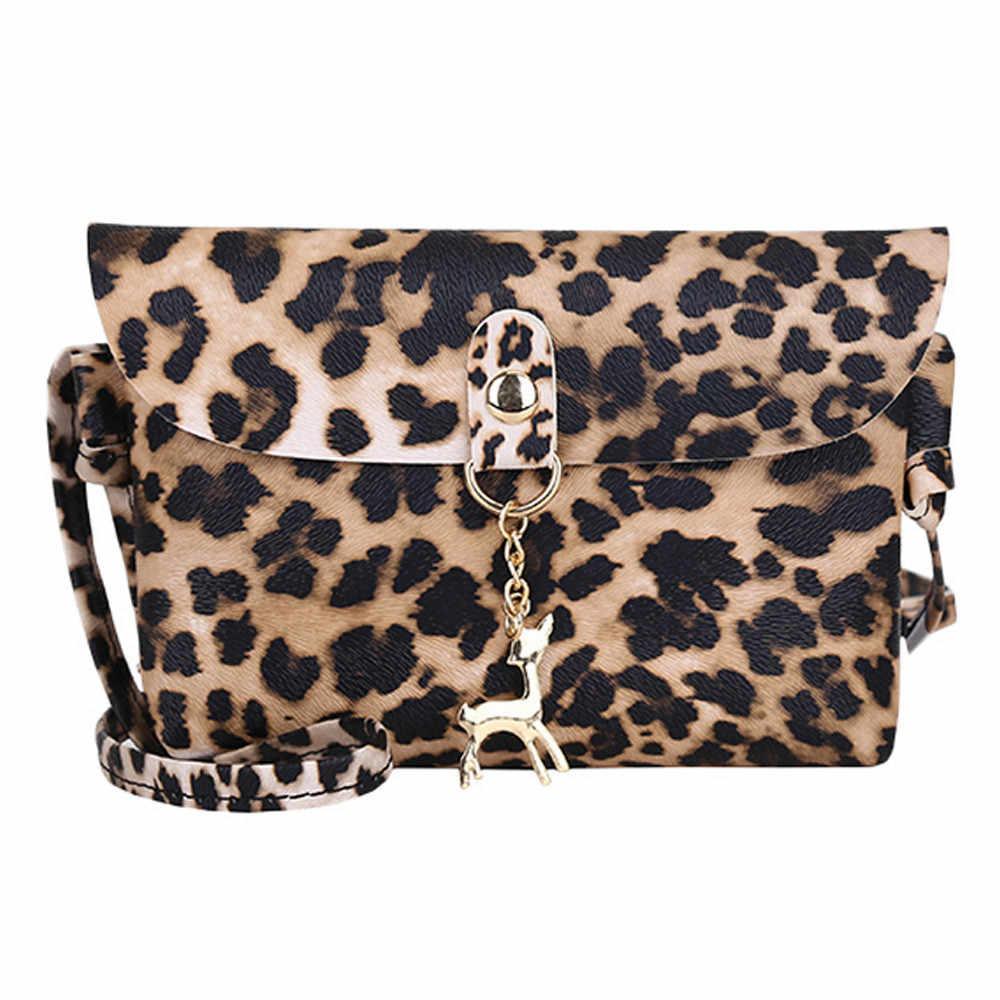 Bolsas de luxo Mulheres Designer de Borla Leopardo Crossbody Sacos para As Mulheres Famoso Saco Do Mensageiro Fêmea Femme Sac a Principal Sacos # YL5