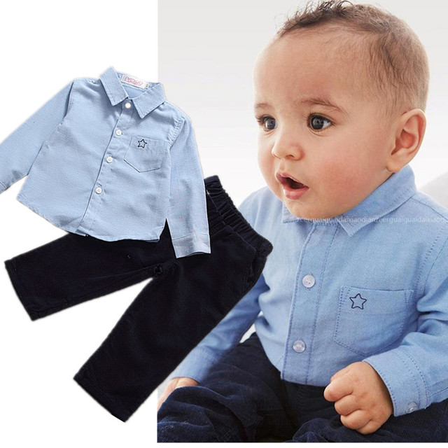 baby boy clothes baby clothes stitched star shirt newborn baby clothes casual clothing set