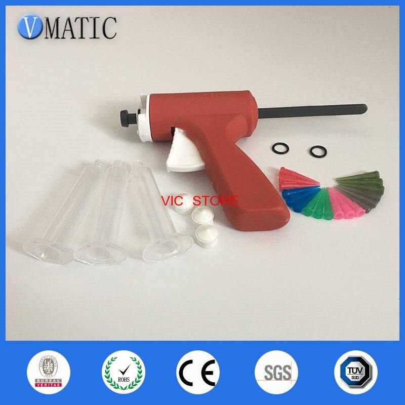 10ML manual syringe gun/ Epoxy Caulking Adhesive Gun single liquid glue gun/dispense gun with full parts