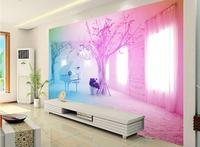 customize 3d wall papers home decor living room Pink piano snow 3d wall murals 3d stereoscopic murals wallpaper