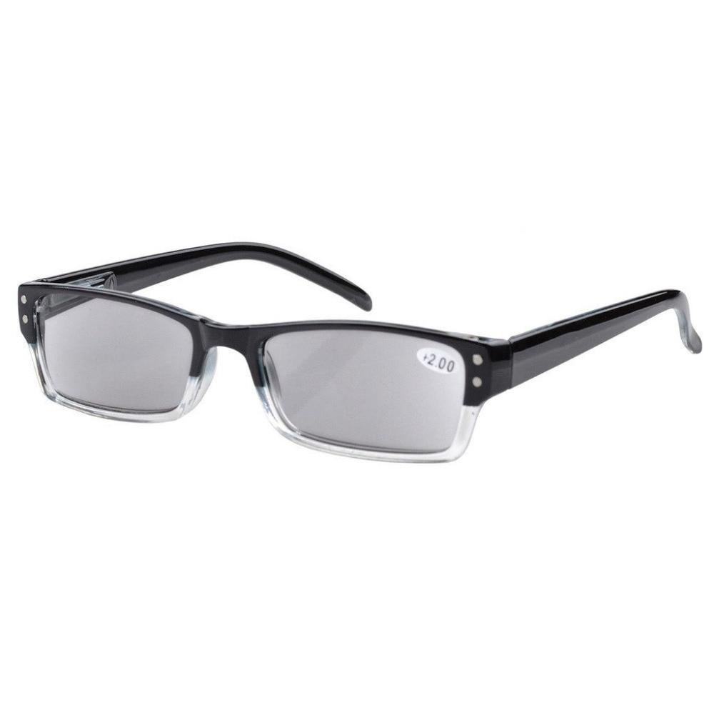 1899a38d43d R012 Eyekepper Spring Hinges Reading Glasses Men Women With Case Grey Lens  Sun Readers +1