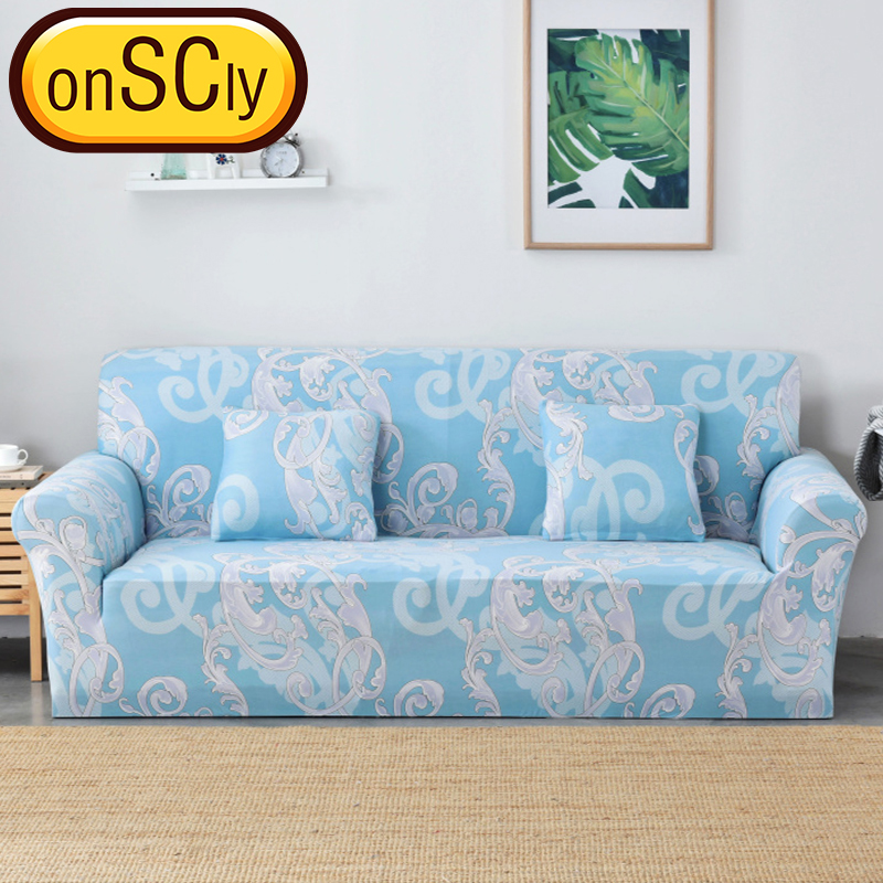 US $33.3 |Sky Blue Protector Sofa Cover Sofa Slipcover Furniture Couch  Cover For Sofa Covers For Living Room Corner Sofa Cover Elastic-in Sofa  Cover ...