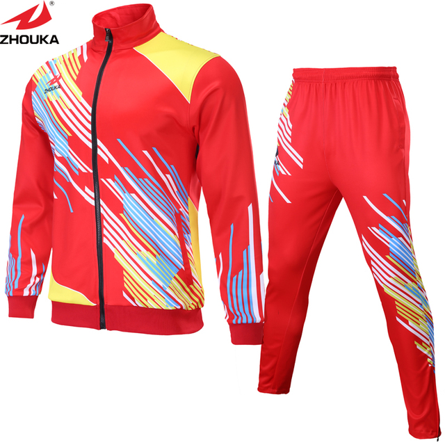 a8e376c7d9f Design your own unique tracksuit Sublimation printing colors and art to  personalize your tracksuit