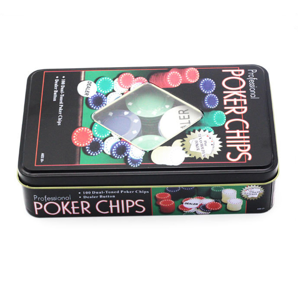 100 Baccarat Chip Bargaining Chip Poker Set Blackjack Hadiah Permainan Papan Menyenangkan Permainan Pesta Untuk Hiburan Permainan Papan Aliexpress